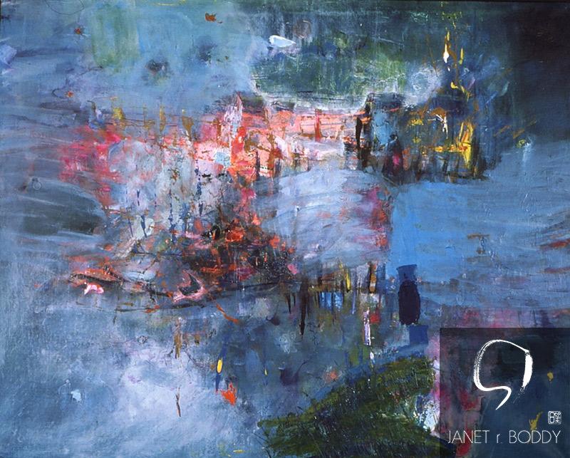 1999, Acrylic on canvas - 122x122cm. For Sale
