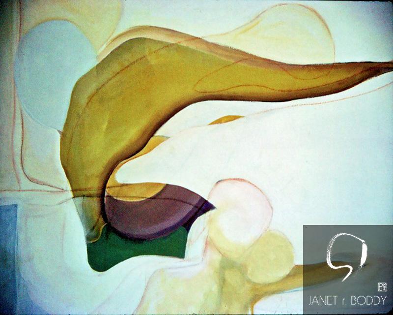 1971, Acrylic on canvas  - 76.5x61cm