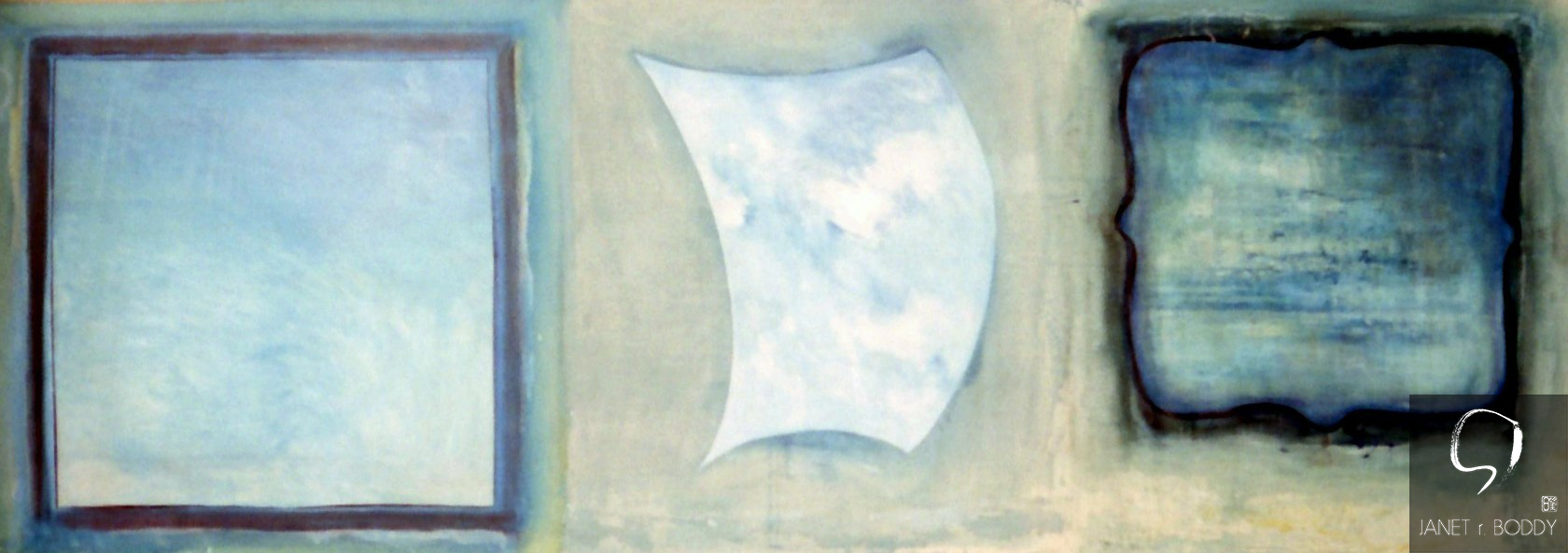 1997, Acrylic on canvas - 183x266cm. Grand Central Gallery, Melbourne