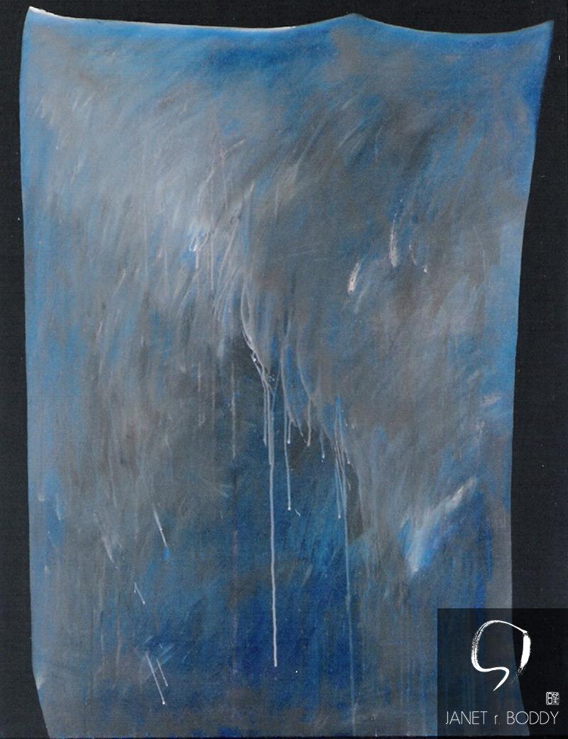 1991, Acrylic on canvas - 153x122cm. For Sale