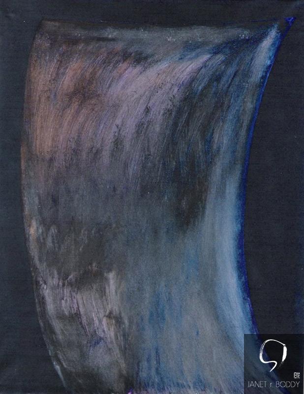 1991, Acrylic on canvas - 122x91cm. For Sale