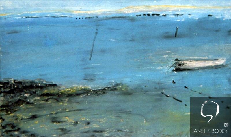 1999, Oil on Board - 26x40cm