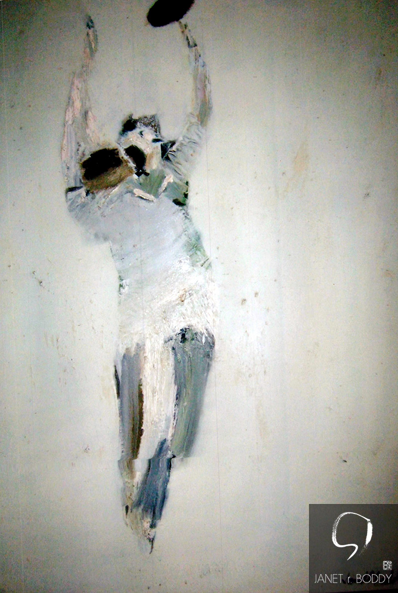 1979, Oil on hardboard - 91.5x76.5cm