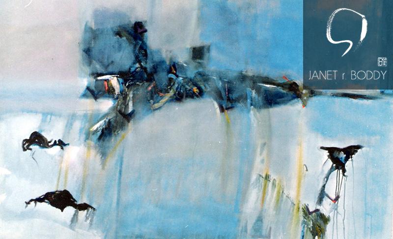 1989, Acrylic on canvas - 122x183cm