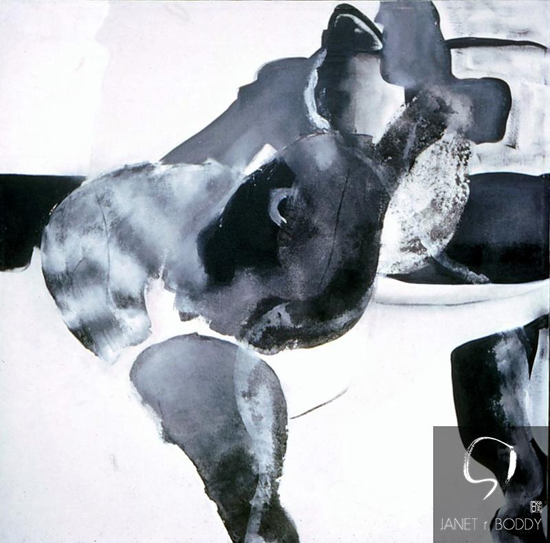 1969, Acrylic on canvas - 91x91cm. For Sale