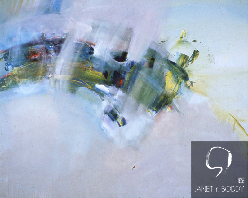 1985, Acrylic on canvas - 122x183cm
