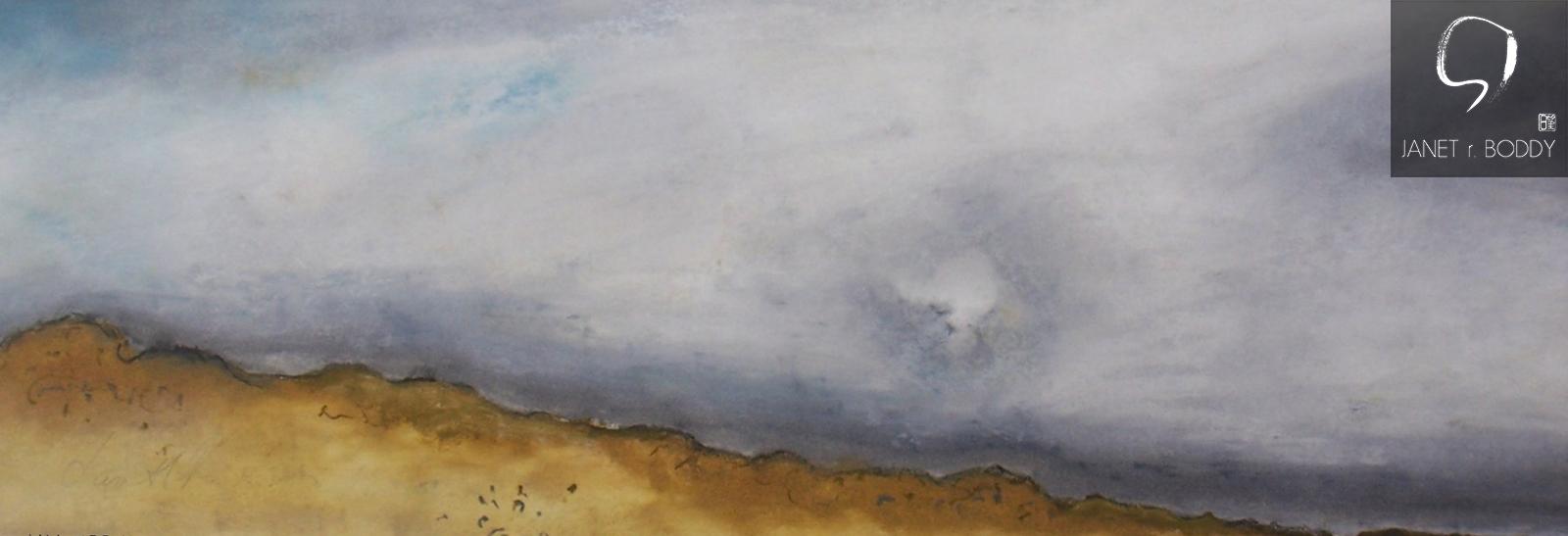 2011, Oil Crayon - 33x76cm. For Sale