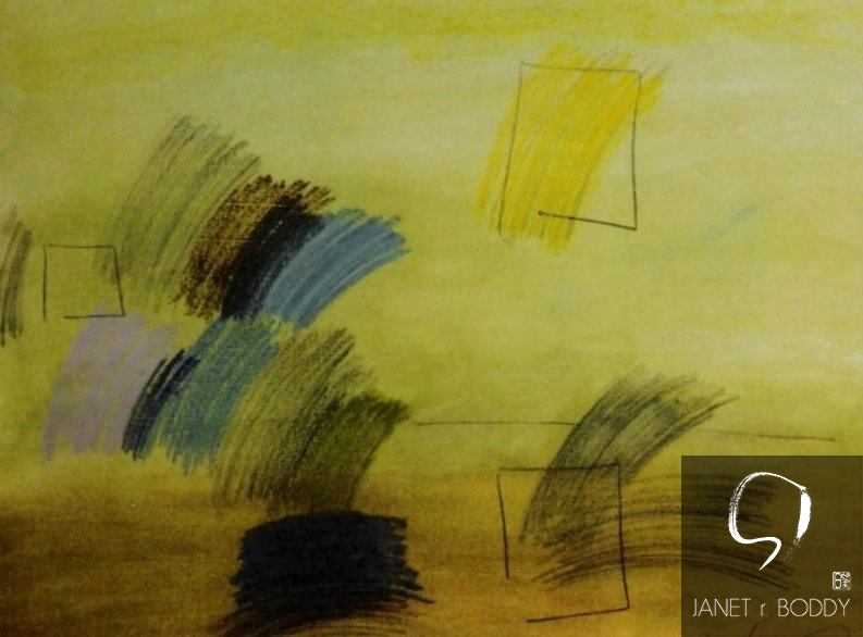 2006, Oil Crayon - 37x63cm
