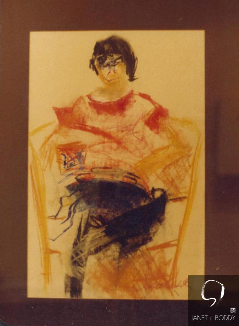 1980, Pastel - 31x26cm