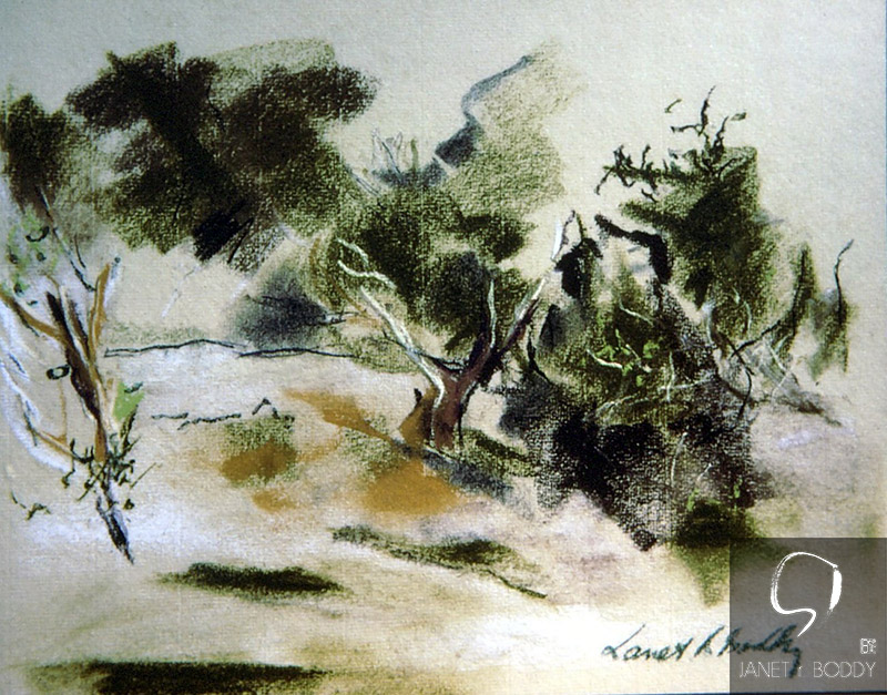 1979, Dry Pastel - 21x30cm