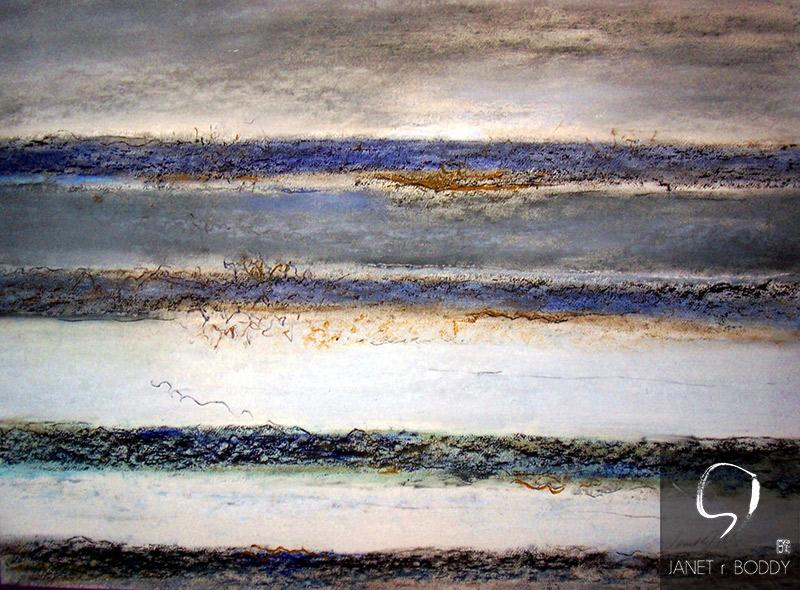 2011, Oil Crayon - 57x72cm. For Sale.